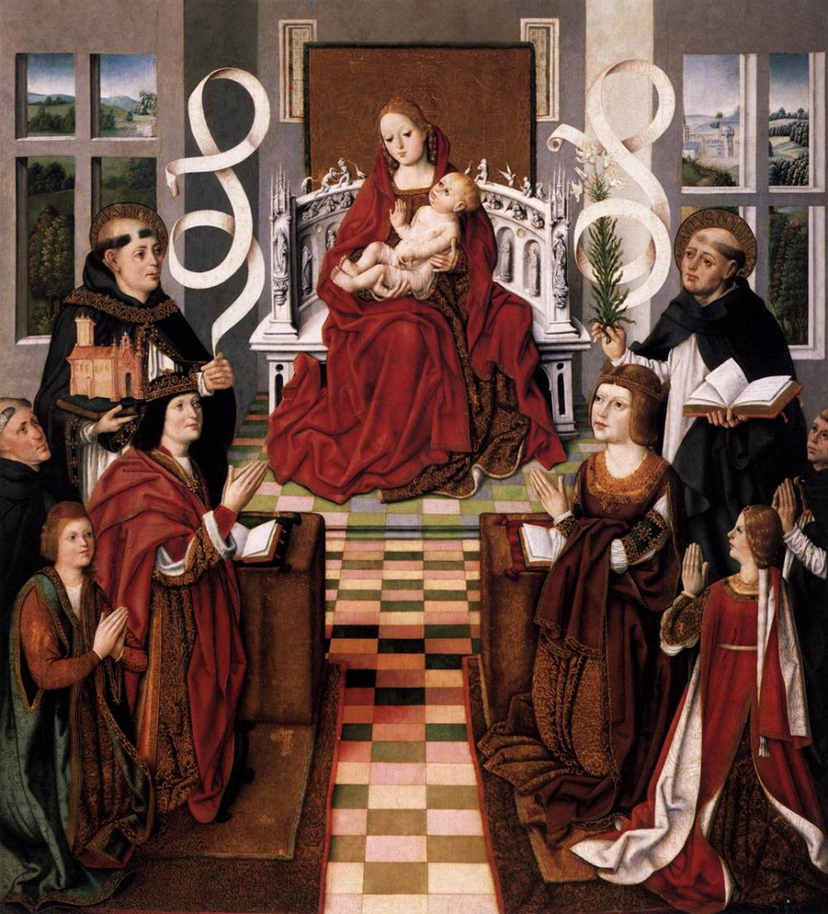 The Virgin of the Catholic Kings, c. 1491